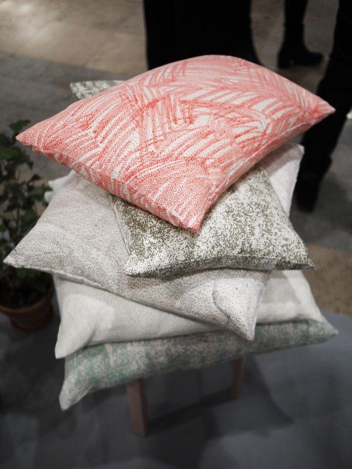 My snapshots from Stockholm furniture fair. Textiles from designduo Amanda & Matilda. #stockholmfurniturefair #sthlmfurnfair #showingscandinavia