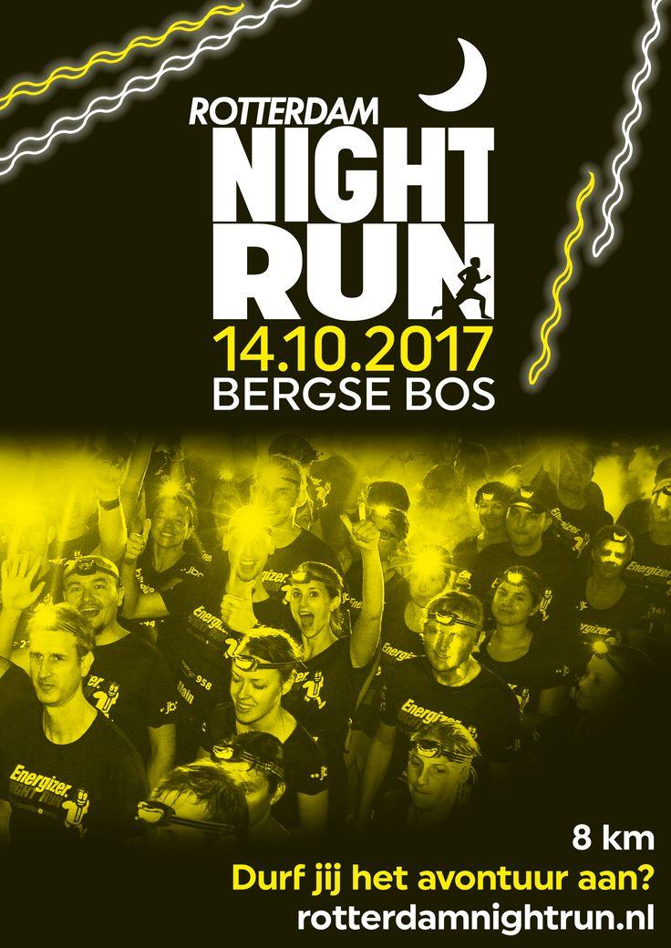 De eerste Rotterdam Night Run, een unieke mix van sport, spanning en plezier, krijgt op zaterdag 14 oktober na zonsondergang het Bergse Bos als sprookjesachtig decor. De start- en finishlocatie is nabij Outdoor Valley.