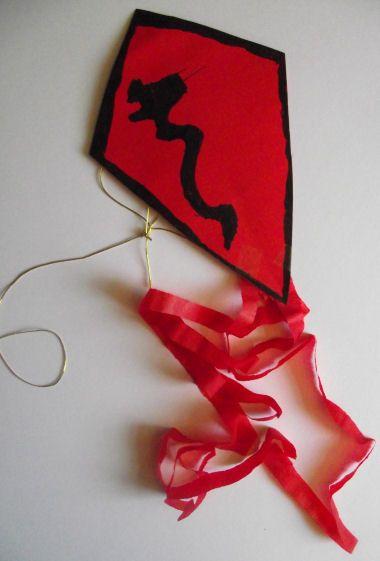 Chinese kite craft - Jack's kite