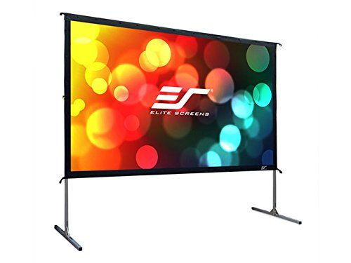 Elite Screens Yard Master 2, 120-inch 16:9, Foldable Outdoor Front Projection Movie Projector Screen, OMS120H2