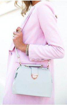 Such a nice pastel bag for spring  Mirror Mirror Bag  Available from beginning boutique
