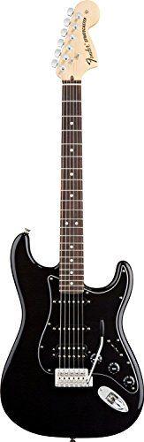 Fender American Special Stratocaster HSS, Rosewood Fretboard - Black