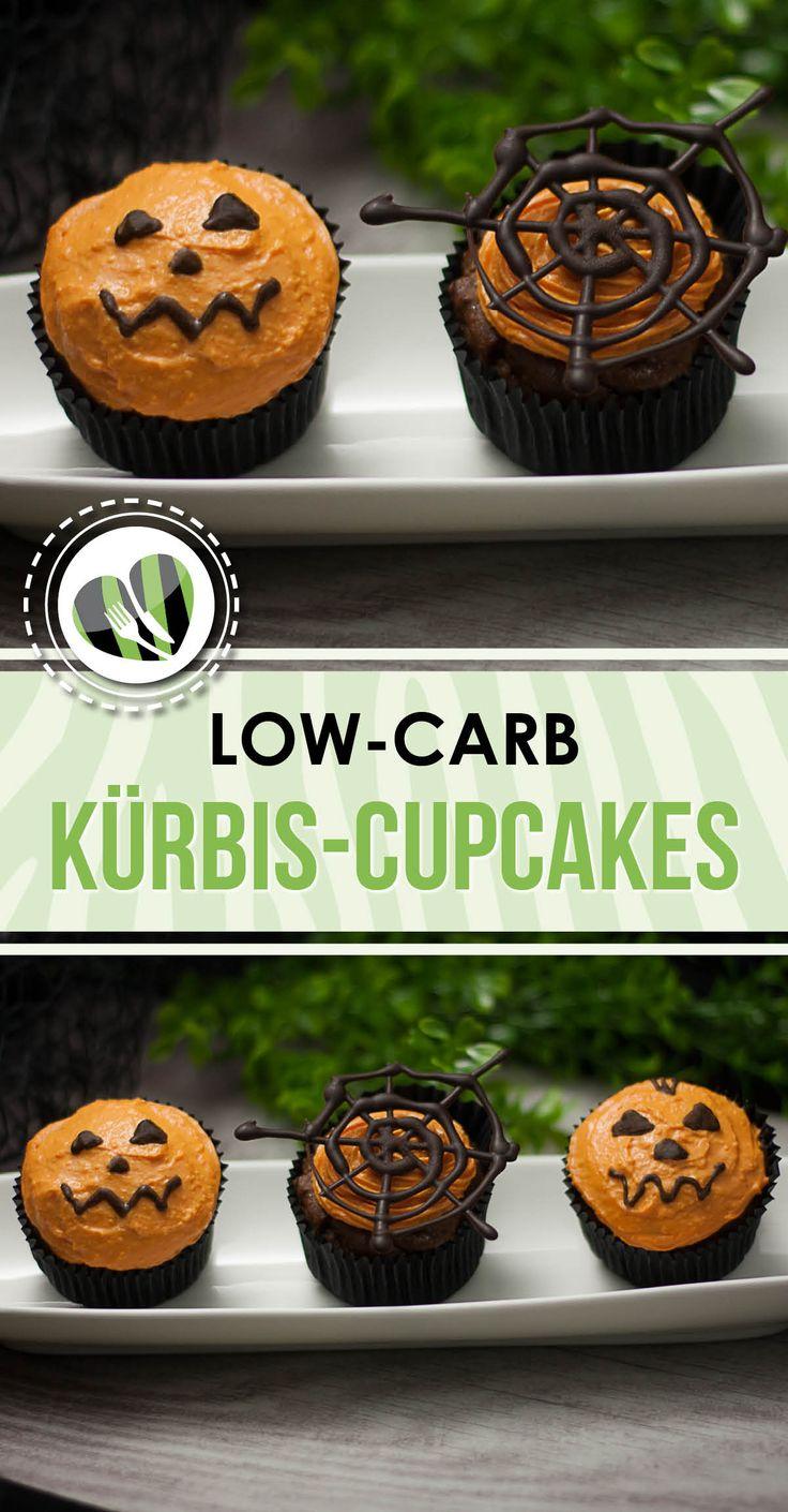 Die Kürbis-Cupcakes sind low-carb und glutenfrei. Zudem schmecken sie ausgezeichnet.