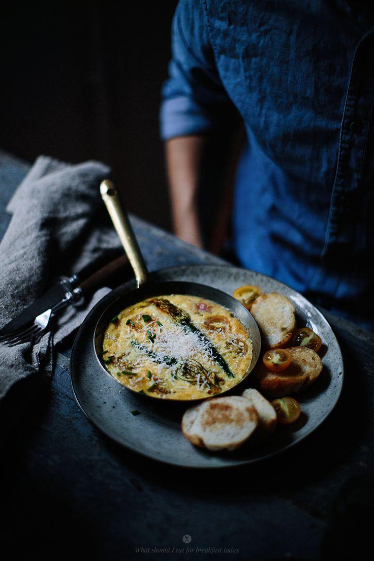Squash blossom omelette by Marta Greber