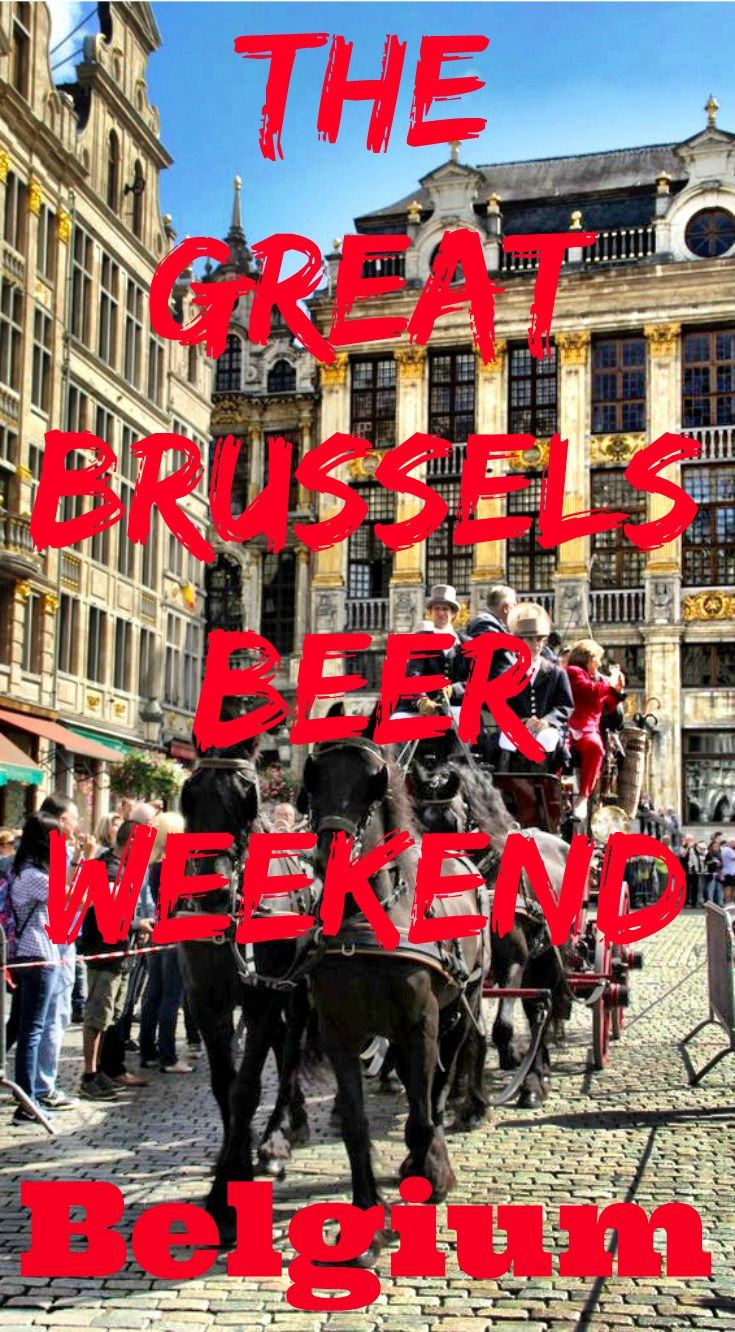 The ultimate guide to enjoying the great Brussels Beer Weekend, held each September in the Belgian capital of Brussels. A celebration of Belgian beer, this is a fantastic and civilised event with a rich history. Everything you need to know about attending the Brussels Beer Weekend festival!