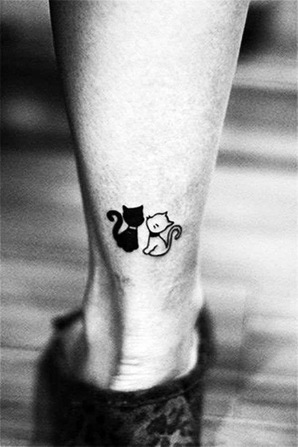 Inspirational Small Animal Tattoos And Designs For Animal Lovers In 2020 Chic Tattoo Tattoos Cat Tattoo Designs