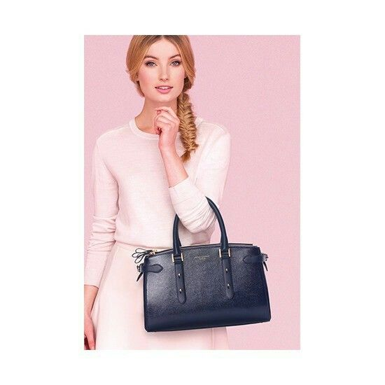 Brook Street Bag in Vintage Tan Croc. The S/S Full Collection from Aspinal  of London
