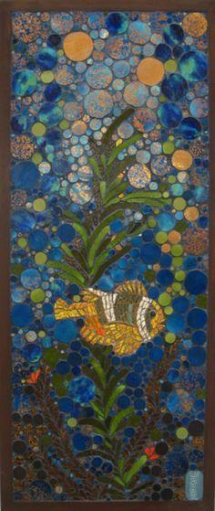 Mosaic Art & Craft Fish on Pinterest | Mosaic Art Supply ...