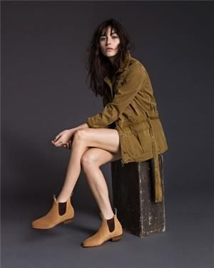 RM Williams Adelaide Boots Suede Sand