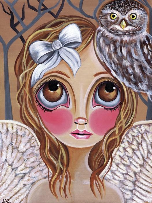 Owl Angel Artist: Jaz Higgins