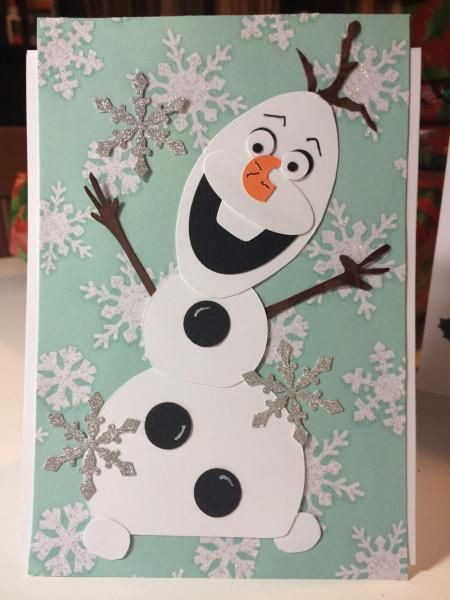Olaf - Frozen fun Stampin' Up!