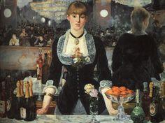 Édouard Manet; Il bar delle Folies-Bergère; 1881-82; olio su tela; Courtauld Institute of Art Gallery, Londra.