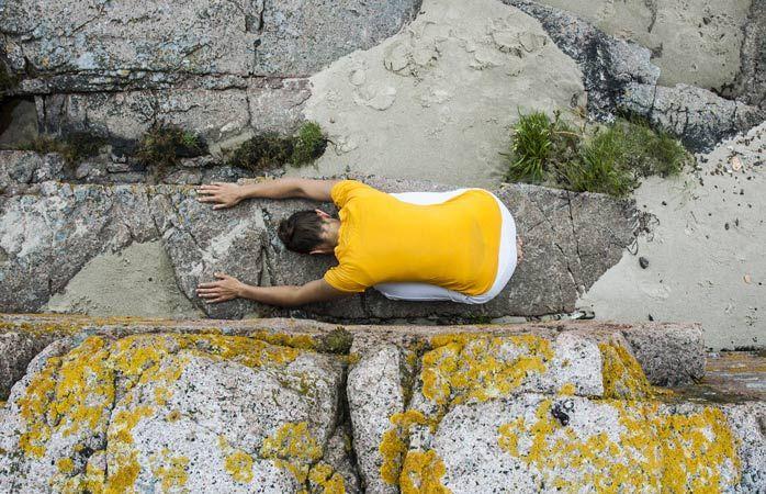Meditation in quiet surroundings at the Bornholm Yoga & Retreat Center