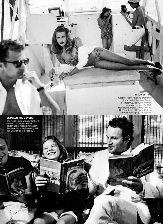 VOGUE MAGAZINE- Dree Hemingway, Jason Clarke & Theo James in In Our Time by Bruce Weber. Camilla Nickerson, June 2013, www.imageamplified.com, Image Amplified (3)