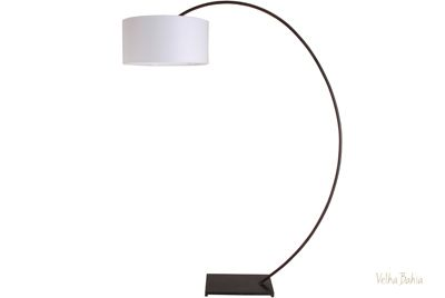 luminária de chão rj em ferro
