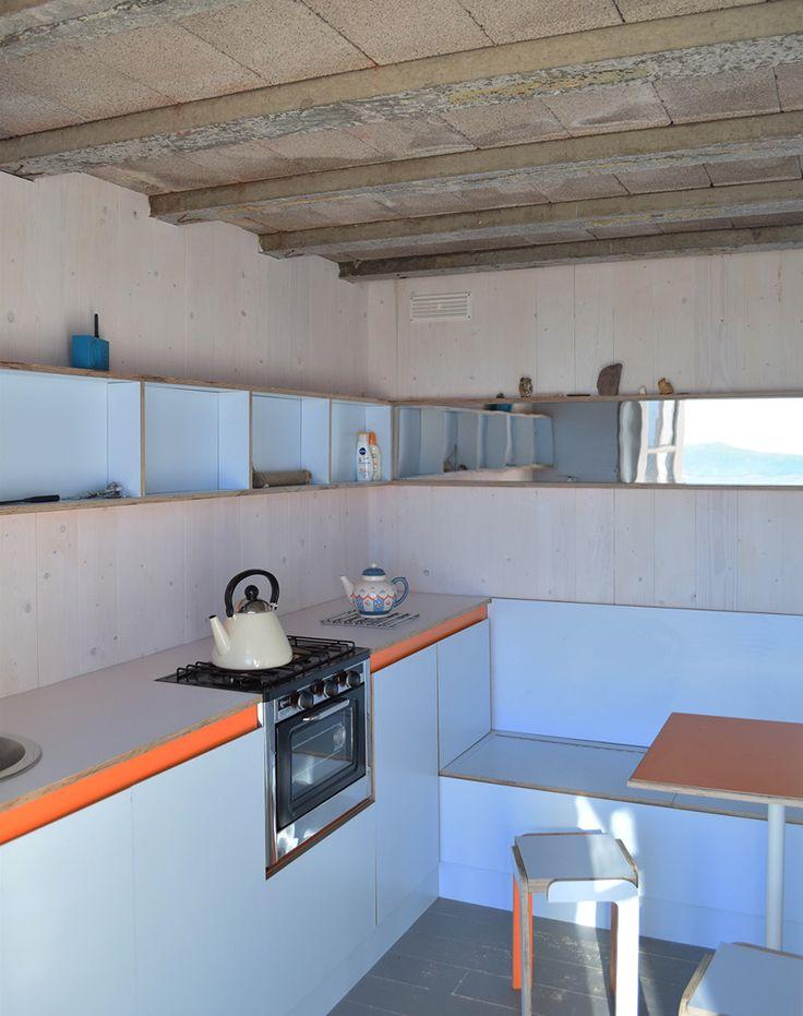 38 best beach hut images on pinterest beach cottages for Beach hut interiors