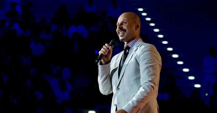 """Iranian-American comedian Maz Jobrani takes to the TEDxSummit stage in Doha, Qatar to take on serious issues in the Middle East -- like how many kisses to give when saying """"Hi,"""" and what not to say on an American airplane."""