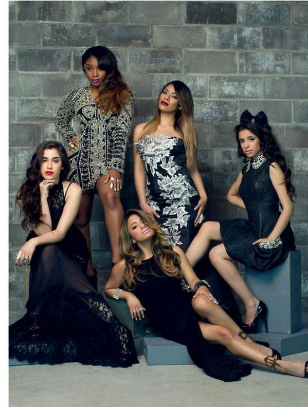 Fifth Harmony on YRB Magazine's cover