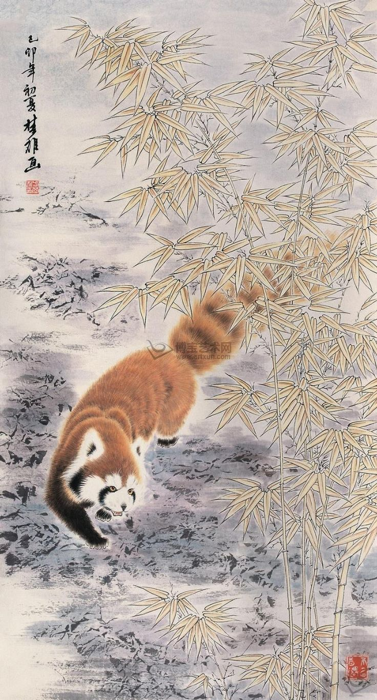 famous chinese panda painting - Google Search