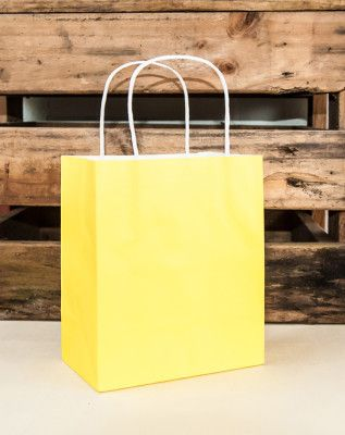 Bright Yellow Bags