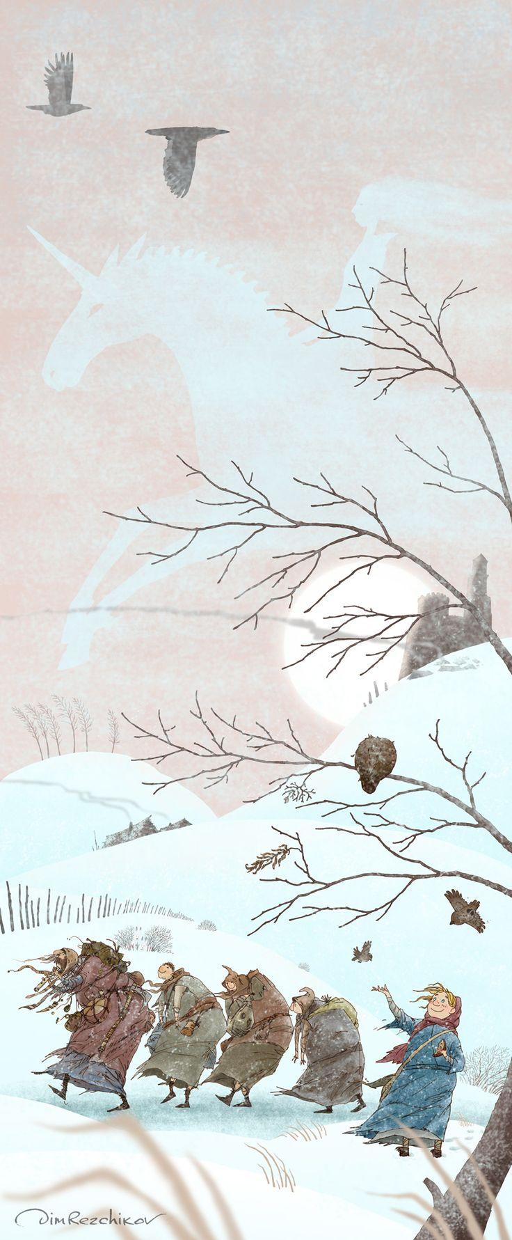 art • russian • illustration • calendar • drawing • artist • illustrator • fantasy