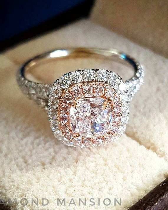 DIAMOND MANSION Custom Engagement Rings / http://www.deerpearlflowers.com/custom-diamond-engagement-rings/