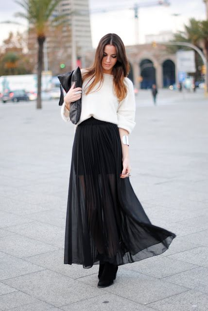 Long Fashion Skirts