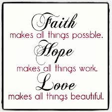 faith hope love - Google Search