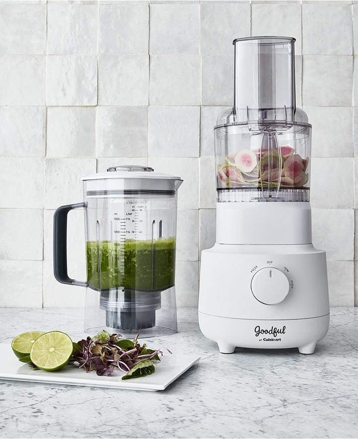 Goodful By Cuisinart Combo Blender And Food Processor Created For Macy S Reviews Small Appliances Food Processor Recipes Blender Food Processor Blender