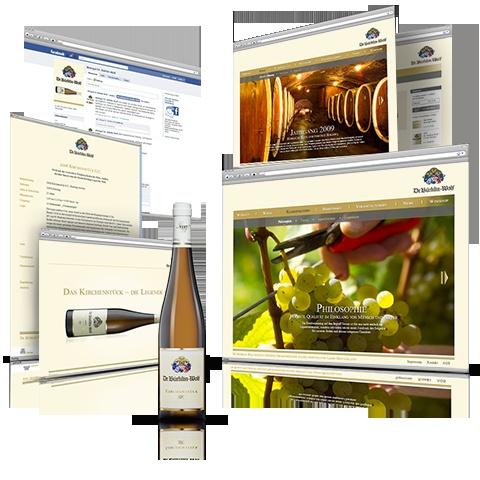 e-commerce | Dr. Bürklin-Wolf: Corporate Website & eShop