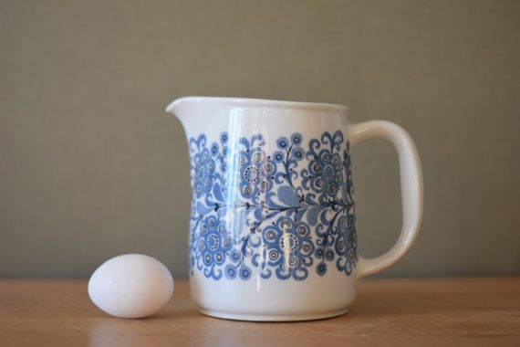 Arabia Finland  ORRI  big pitcher  size FL 3  by littledanishmood