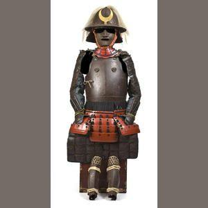 Bonhams 1793 : An unusual Nanban-style armor Edo period, late 18th century