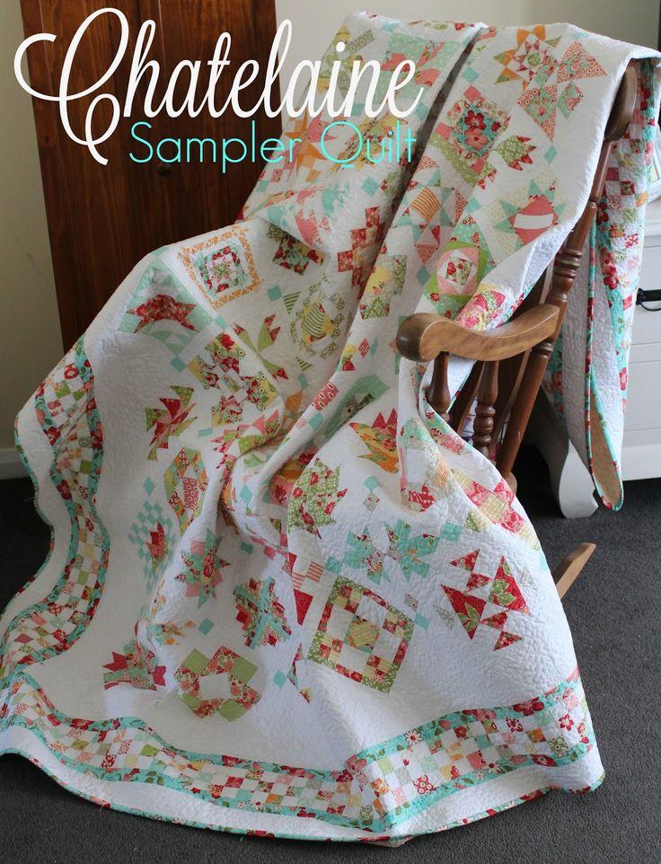 Threadbare Creations- Chatelaine BOW Sampler Quilt Photo Gallery