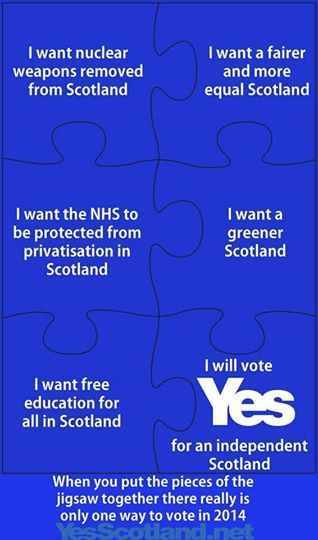 best scottish independence referendum ideas all the pieces fall into place scottish independence referendum scotland yes 2014