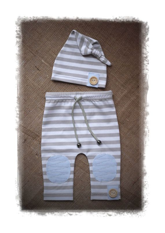 Apoyo de foto de bebé juego pantalones y gorro por GAMMAkids