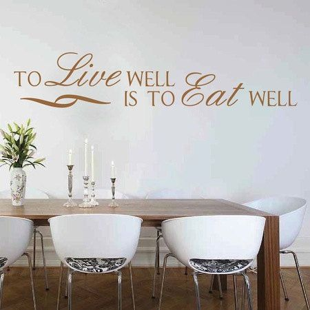 Best Wall Quotes Inspirational Wall Stickers Images On Pinterest - Wall stickers for dining roomdining room wall stickers home design ideas