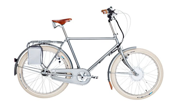 Elechic - Electric Cycles :: Velorbis  one of two electric bike designs that still look like a beautiful bicycle.  want.