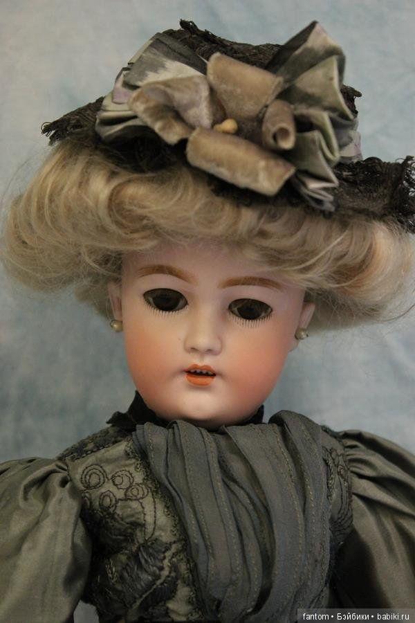 Антикварные куклы-леди / Simon & Halbig, антикварные куклы / Бэйбики. Куклы фото. Одежда для кукол