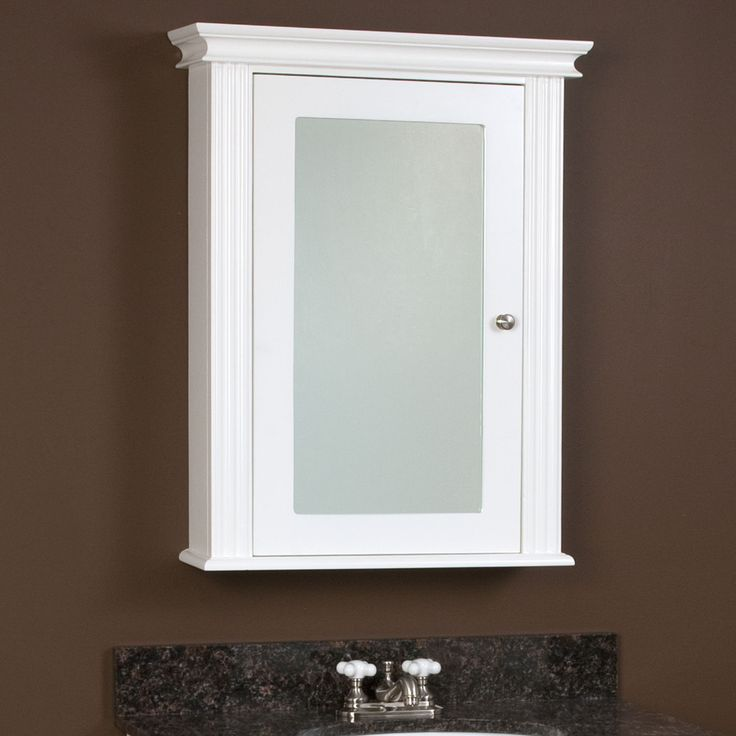 Milforde Collection Medicine Cabinet With Mirror