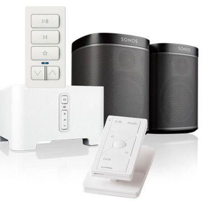 After years of shunning integration with third-party home automation systems, Sonos has created an API for integration and named its first partners: Control4, Crestron, Deutsche Telekom's QIVICON, iPort, Lutron, and Savant. Plus: How Crestron does it differently.