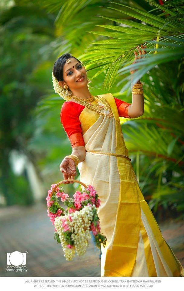 Simple and Elegant South Indian Bride