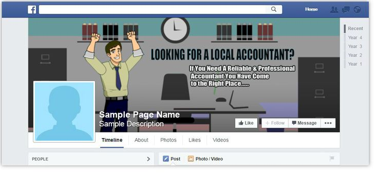 Painter Facebook Page Cover Design Browse Our Gallery   - sample advertising timeline