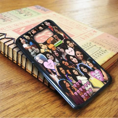 Selena Gomez You Little Shit Collage Samsung Galaxy S6 Case