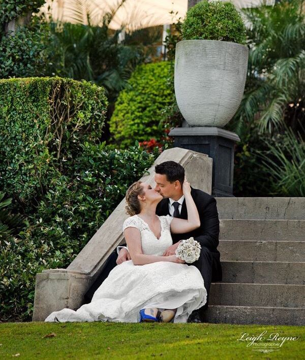 Bit of romance for this couple on their wedding day at Hillstone St Lucia   @hillstonestlucia  Leigh Reyne photographer ©
