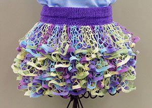 44 best ruffle yarn ideas images on pinterest crochet tote ruffle yarn skirt dt1010fo