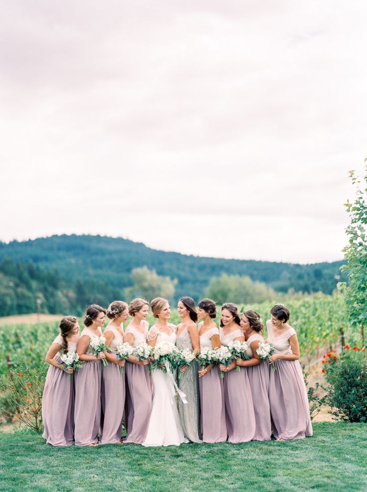 Oh how I wish I'd been one of these bridesmaids; from their boho chic hairstyles to the pretty in purple dresses that I would have then worn all summer long, they scored well with this role. But these lucky ladies were just one fabulous piece in a whole collection of wedding wonders, with Alexandra Grace capturing […]