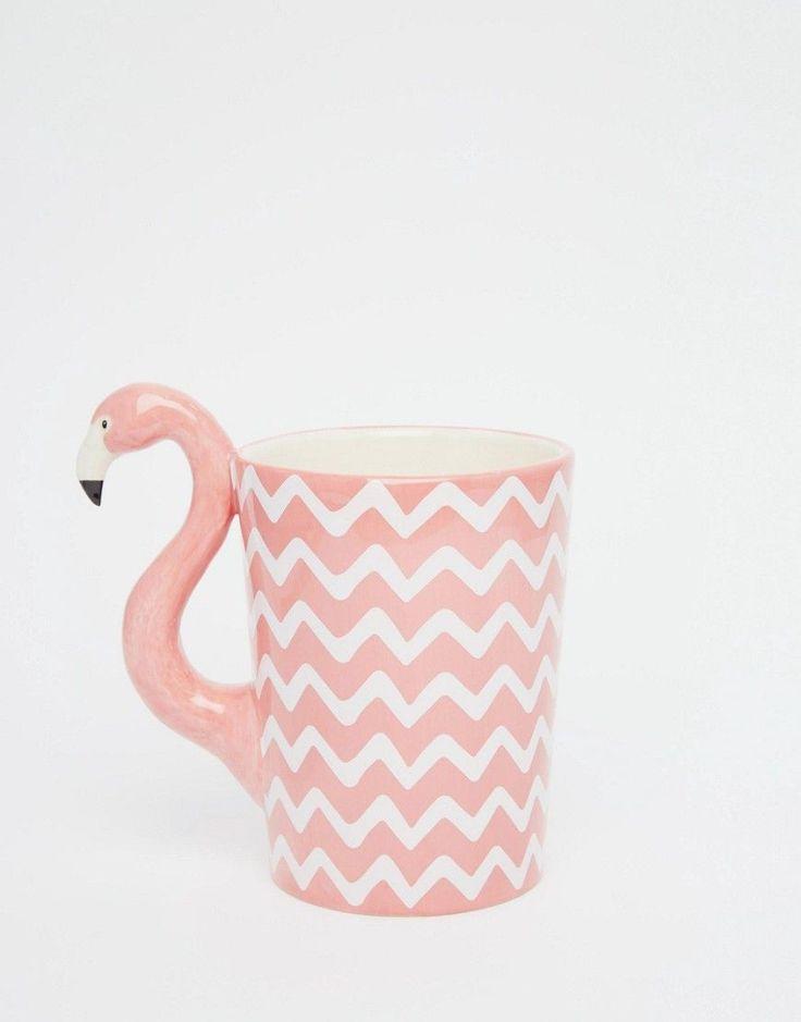 Image 1 ofSass & Belle Flamingo Mug