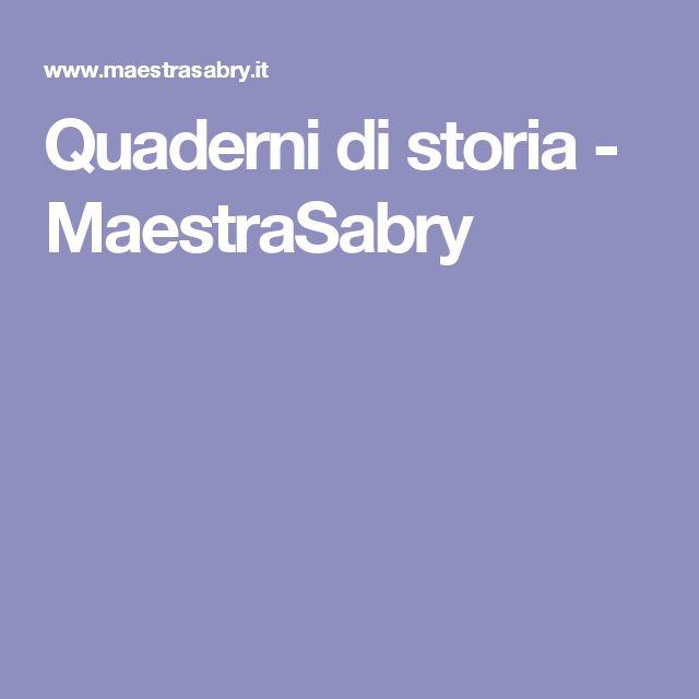 Quaderni di storia - MaestraSabry