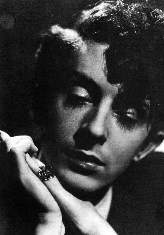 Quentin Crisp, photo by Angus McBean, 1940