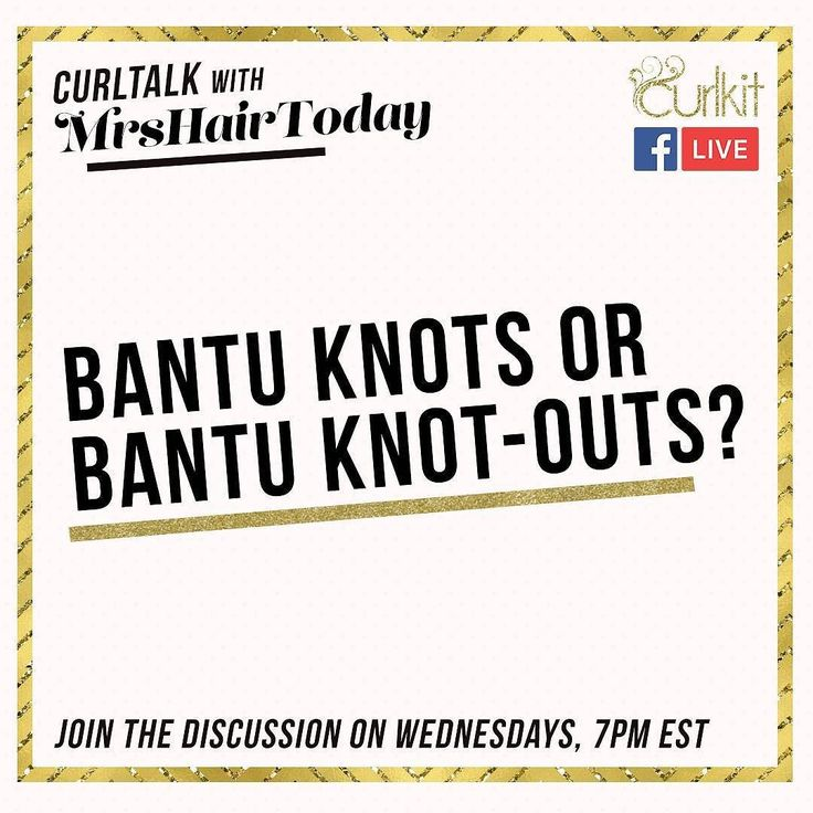 Are you more about keeping it stylish or letting your mane go freely? Tell us in the comments if you are a bantu knots or bantu knot-outs kind of girl and join us every Wednesday @ 7pm EST for more curlicious tips! #CurlTalk #curlkit #curllife #teamnatural #teamnatural_ #mynaturalhair #urbanhairpost #naturalhairmojo #naturalherstory #myhaircrush #naturalhaircommunity